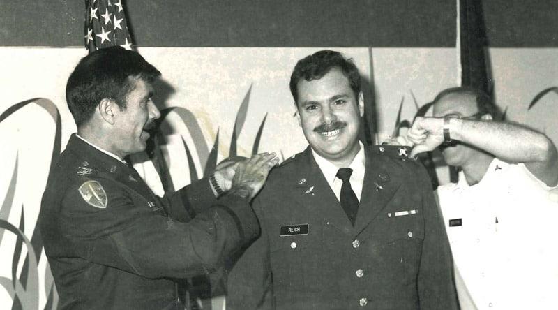 Larry Reich - Nursing School Graduation 1972 Walter Reed Army Hospital