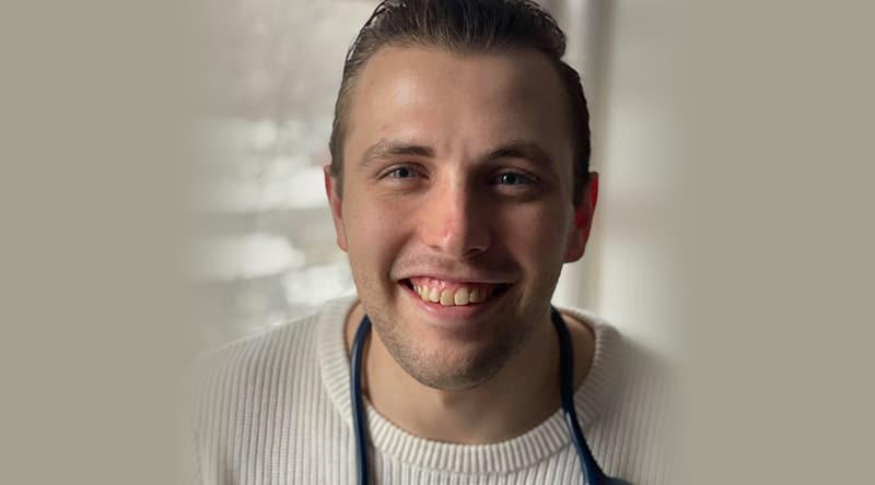 Hallick Lehmann RN joined OHC as a graduate nurse and stayed once he passed his nursing boards to become a RN!